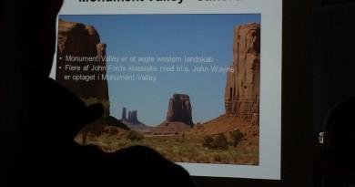 Foredrag om ferie i USA