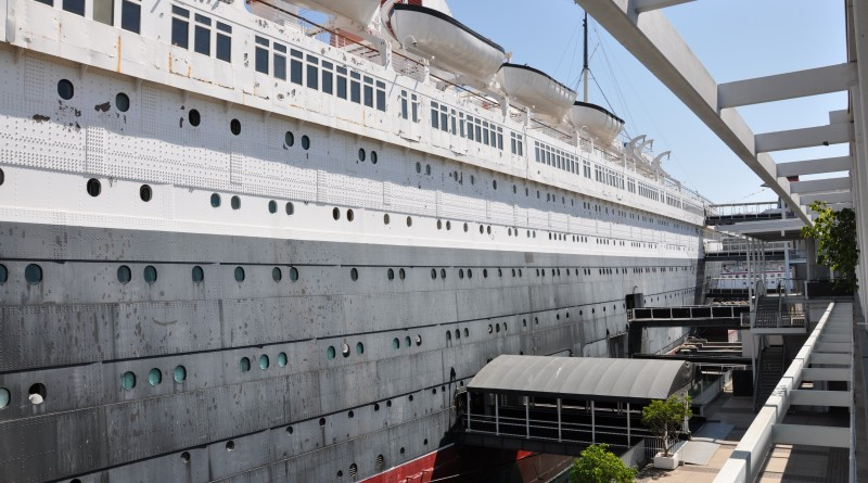 Queen Mary hotel i Los Angeles