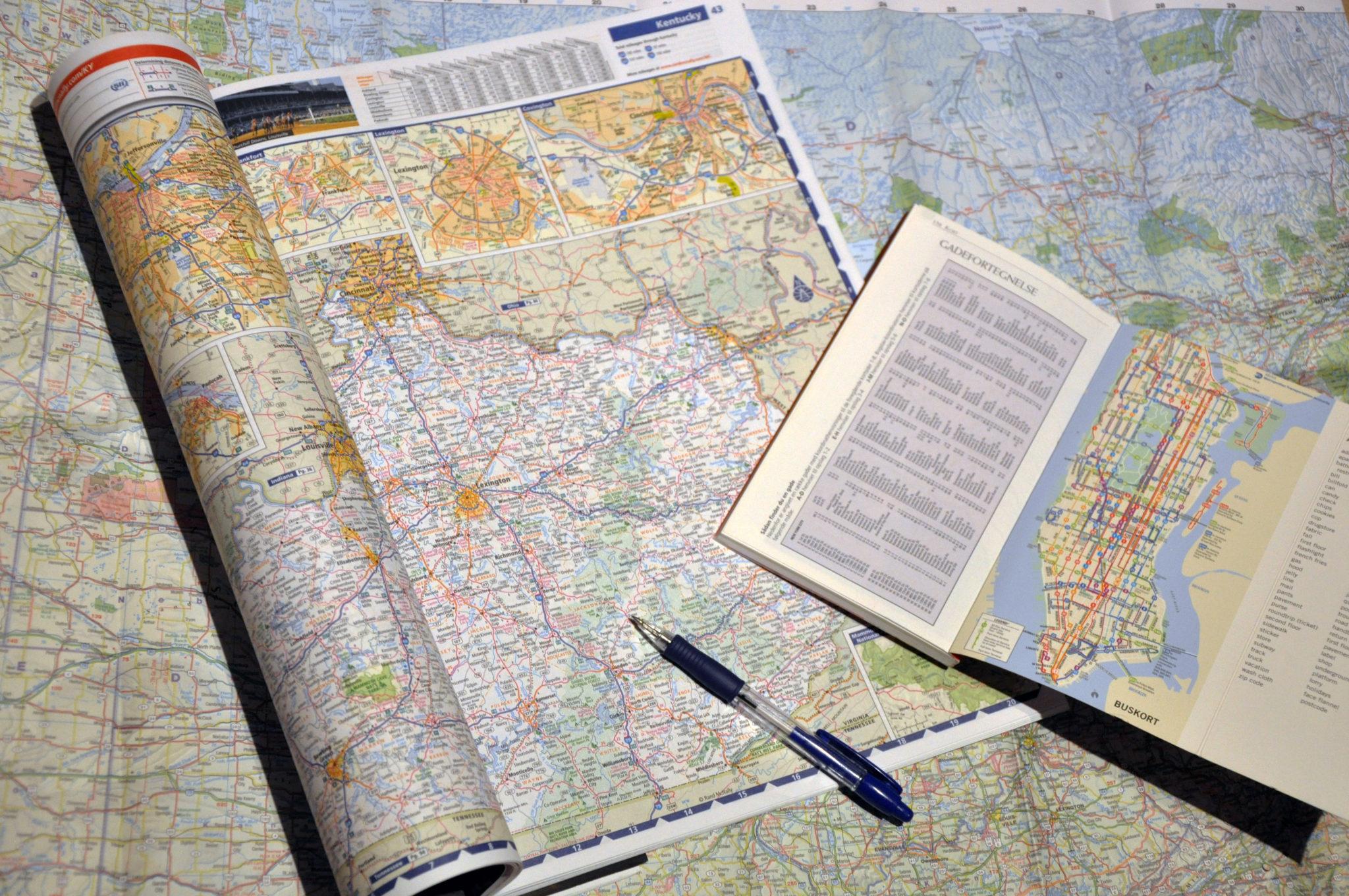 Planlægningsværktøj til USA rute og roadtrip
