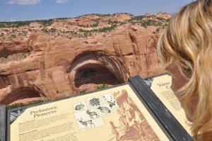 indianerhuler ved Navajo national monument