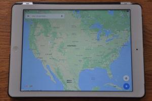google maps ipad