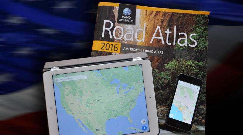 Kort og navigationer over USA