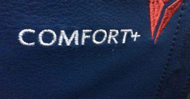 Opgradering af flysæde, Delta comfort plus +