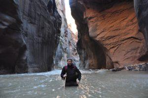 Flodvandring i The Zion Narrows